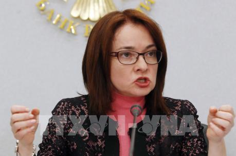 Ngân hàng trung ương Nga giữ nguyên lãi suất ở mức 10%