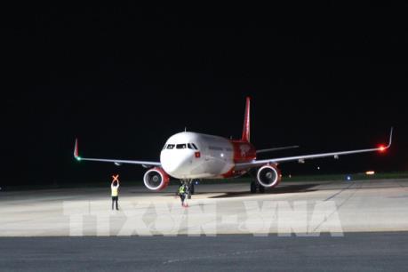 Chuyến bay đầu tiên chở du khách Trung Quốc đến Đà Lạt