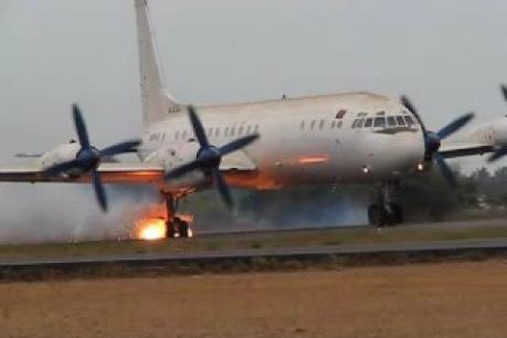 Tai nạn máy bay quân sự Nga làm nhiều người bị thương