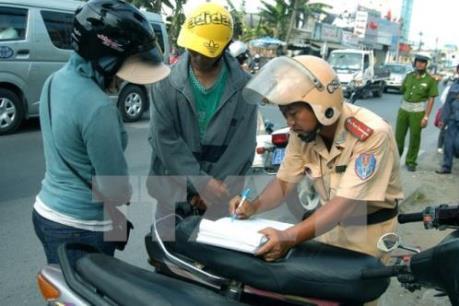 Ba ngày, xử lý hơn 3.400 trường hợp vi phạm an toàn giao thông