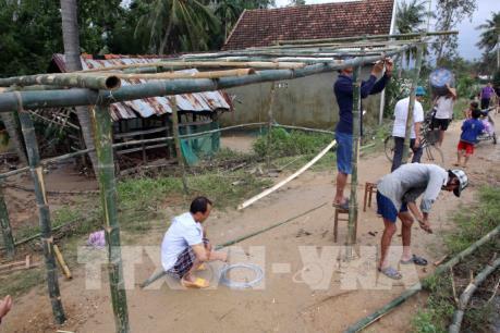 Bình Định: Huy động mọi lực lượng khắc phục hậu quả mưa lũ
