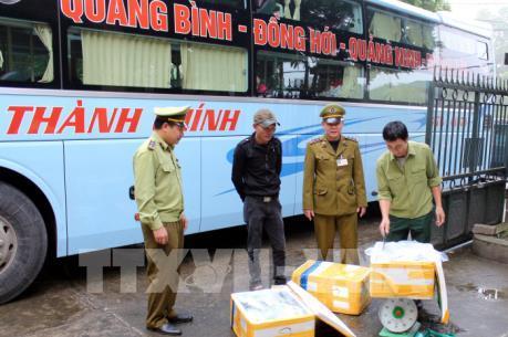 Quảng Ninh liên tiếp bắt giữ thực phẩm không rõ nguồn gốc