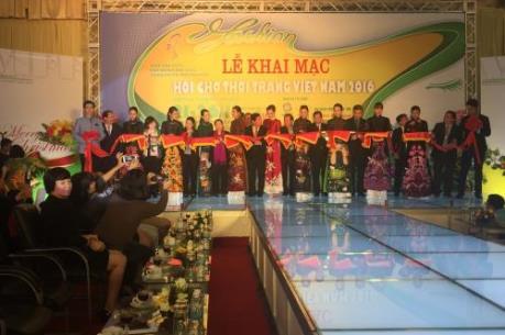 Khai mạc Hội chợ Thời trang Việt Nam – VIFF 2016
