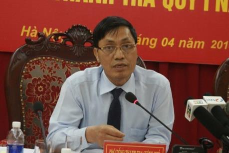 Kéo dài thời gian giữ chức đối với Phó Tổng Thanh tra Chính phủ Ngô Văn Khánh