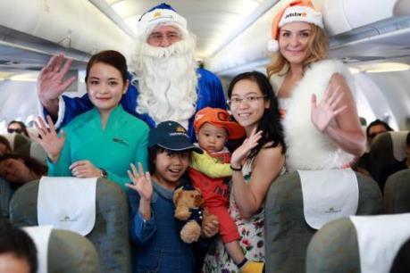 Món quà bất ngờ từ Vietnam Airlines và Jetstar Pacific nhân dịp Giáng sinh 2016