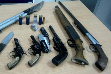 Hà Nội: Bắt giữ đối tượng tàng trữ trái phép vũ khí quân dụng