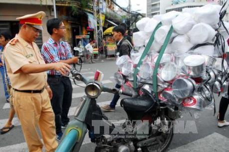 Một tuần xử lý gần 17.000 trường hợp vi phạm an toàn giao thông