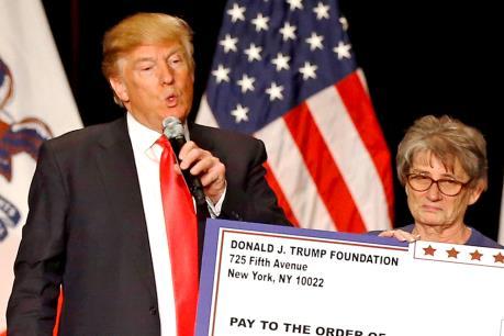 Tổng thống đắc cử Mỹ Donald Trump tuyên bố giải thể quỹ từ thiện Trump Foundation
