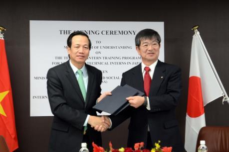 Nhật Bản dành ưu đãi mới cho thực tập sinh Việt Nam