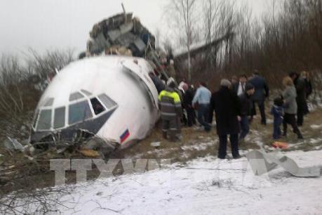 Vụ tai nạn máy bay quân sự Nga: Không có dấu hiệu xảy ra cháy nổ trên máy bay Tu-154