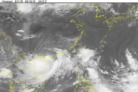 Tin mới nhất về cơn bão Nock -ten: Tối và đêm 26/12, bão có khả năng đi vào biển Đông
