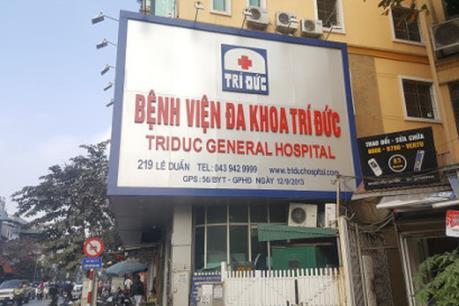 Vụ hai bệnh nhân tử vong tại Bệnh viện Trí Đức: Đã xác định nguyên nhân ban đầu