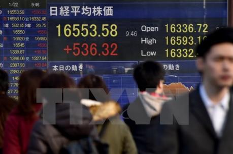 Chứng khoán châu Á diễn biến trái chiều trong phiên đầu tuần