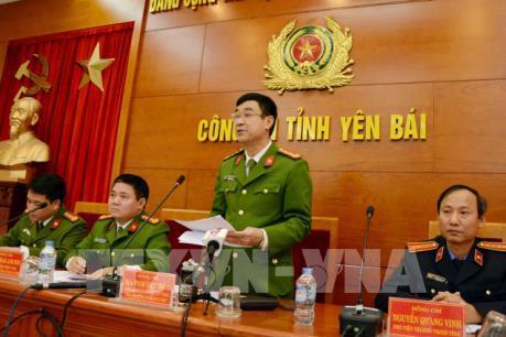 Công bố kết quả điều tra vụ nổ súng tại tỉnh Yên Bái