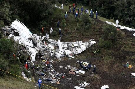 Colombia xác nhận lỗi của con người trong vụ rơi máy bay hồi tháng trước