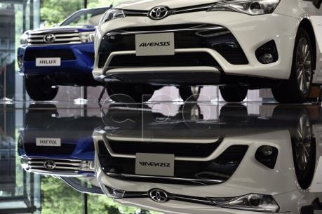 """Sản lượng xe của các nhà chế tạo """"xế hộp"""" lớn của Nhật Bản hầu hết đều tăng"""