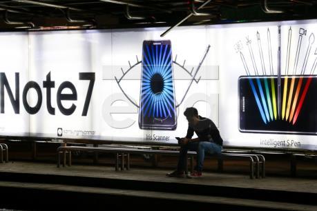 Samsung thu hồi trên 90% điện thoại Note 7 tại Hàn Quốc, EU và Mỹ