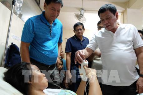 Xác định nguyên nhân vụ nổ bom tại miền Trung Philippines