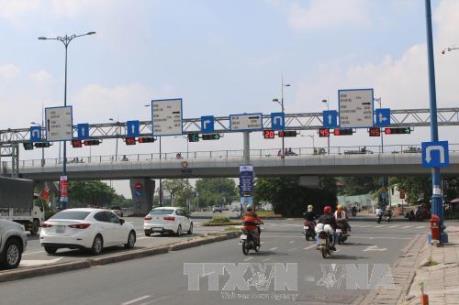 Thông xe cầu kết nối giữa Nguyễn Tri Phương với Đại lộ Võ Văn Kiệt