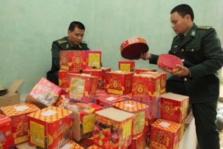 Quảng Ninh: Bắt giữ 22 kg pháo vận chuyển trái phép qua biên giới