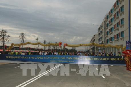 Bình Dương đưa vào sử dụng 1.700 căn hộ nhà ở xã hội cho công nhân