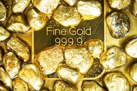 Giá vàng thế giới tăng lên mức cao nhất trong hai tuần