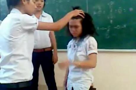 Hà Nội: Đình chỉ dạy học cô giáo cho hơn 40 học sinh tát bạn trong lớp