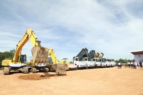Khởi công xây dựng Nhà máy Xi Măng Minh Tâm