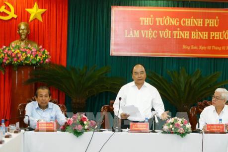 Thủ tướng Nguyễn Xuân Phúc: Nông nghiệp thông minh là hướng đi đột phá của Bình Phước