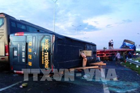 Vụ tai nạn trên cao tốc Long Thành-Dầu Giây:  Một nạn nhân đã tử vong