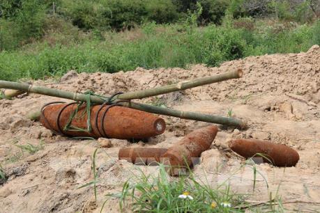 Phát hiện quả bom nặng hơn 200 kg tại Đắk Nông