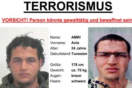 Vụ đâm xe tải ở Đức: Thụy Sĩ mở cuộc điều tra với Anis Amri