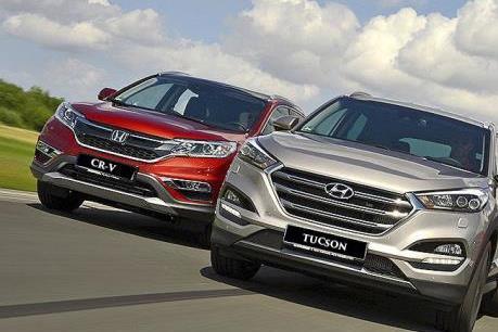 Hyundai Tucson và Honda CR-V: Lựa chọn nào cho cùng phân khúc?