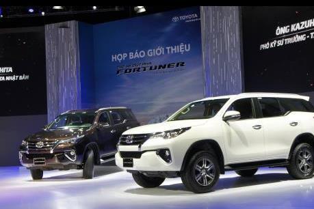 Doanh số bán xe của Toyota Việt Nam tiếp tục giảm