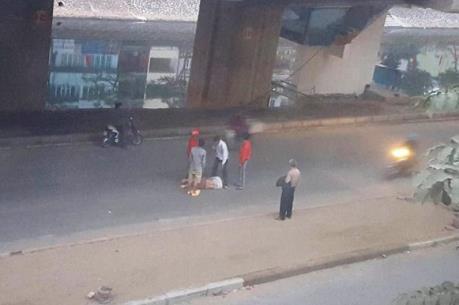 Xác minh vụ công nhân rơi từ nhà ga đường sắt Cát Linh-Hà Đông