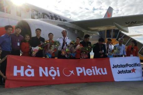 Jetstar Pacific khai trương đường bay Hà Nội - Pleiku