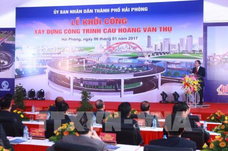 Hải Phòng: Gần 2.600 tỷ đồng xây dựng cầu Hoàng Văn Thụ