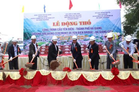 Hà Giang khởi công xây dựng cầu Yên Biên