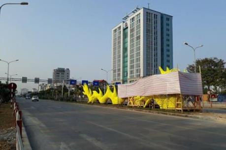 Hải Phòng chỉnh sửa rồng vàng đầu pikachu trên phố