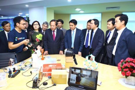 Hà Nội ra mắt Vườn ươm doanh nghiệp công nghệ thông tin đổi mới sáng tạo