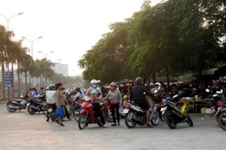 Khu công nghiệp Khai Quang sẽ không còn chợ cóc, chợ tạm