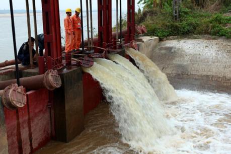 Gần 10% diện tích được lấy nước đổ ải vụ Đông Xuân