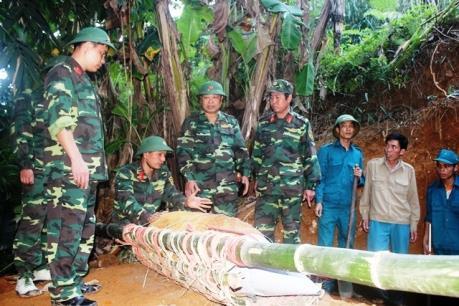 Yên Bái: Phá hủy thành công quả bom 60 kg