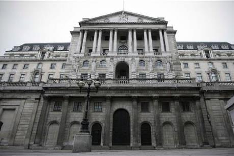 Ngân hàng trung ương Anh nâng mức dự báo tăng trưởng kinh tế