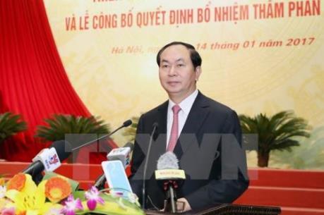 Chủ tịch nước Trần Đại Quang: Xét xử kịp thời, nghiêm minh vụ án kinh tế, tham nhũng