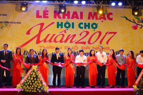 Khai mạc hội chợ Xuân 2017  thành phố Đà Nẵng