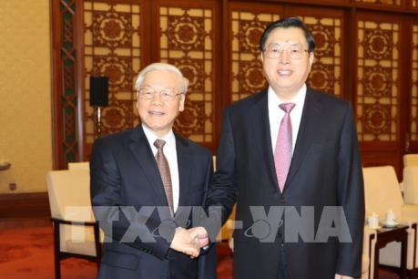 Tổng Bí thư Nguyễn Phú Trọng tiếp tục lịch làm việc dày đặc tại Trung Quốc