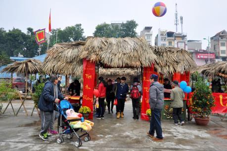 Khai mạc Hội chợ phục vụ Tết tại vùng ngoại thành Hà Nội