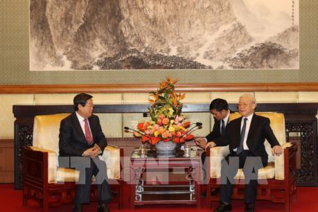Việt Nam và Trung Quốc thúc đẩy hợp tác giữa các doanh nghiệp