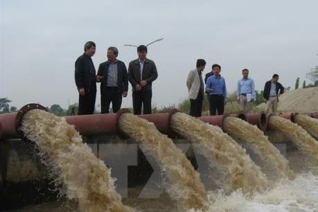 Kết thúc đợt 1, trên 150.000 ha đã có nước cho vụ Đông Xuân